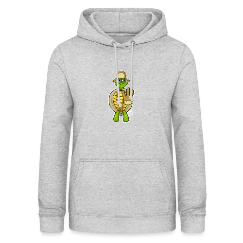 Winter West Coast Schildkröte / Hip-Hop Turtle - Frauen Hoodie