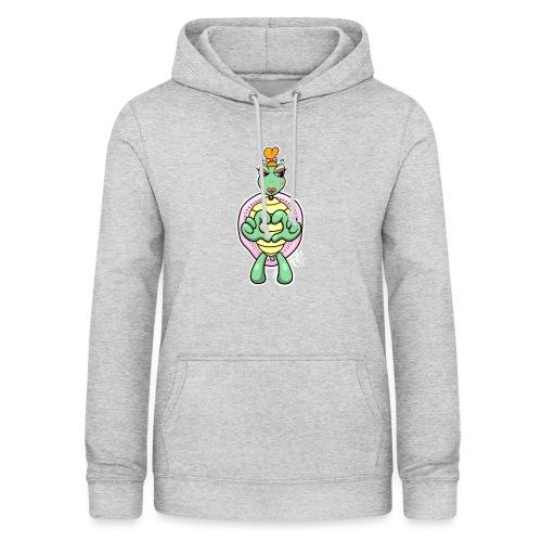Girlie Turtle/ Schildkröte - Frauen Hoodie
