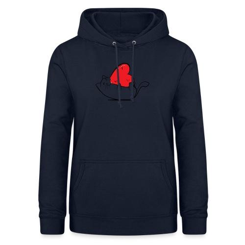 Cat Love - Vrouwen hoodie