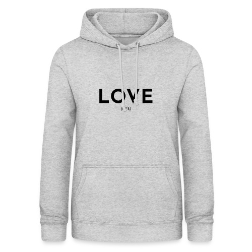 love (let's) - Frauen Hoodie