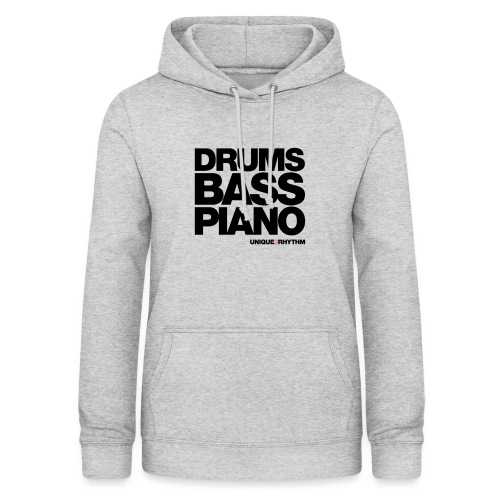 Drums Bass Piano - Women's Hoodie