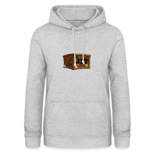Jet Cartoon Wood Box - Frauen Hoodie