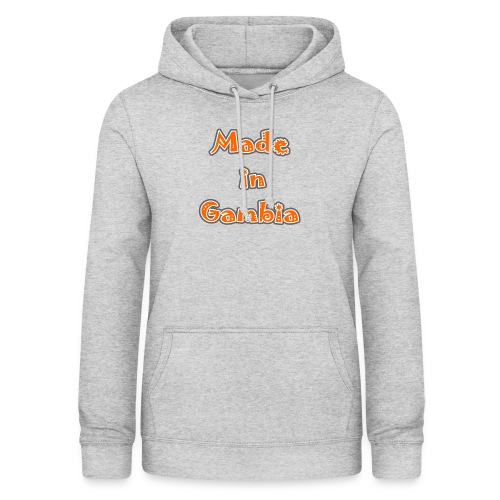 Made in Gambia - Women's Hoodie