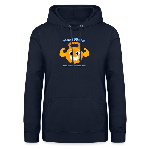 Logo 01Musculation Home Fitness Kettlebell - Sweat à capuche Femme