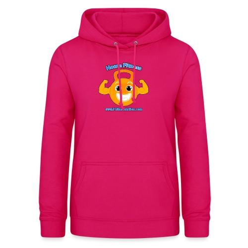 Logo 01Musculation Home Fitness Kettlebell - Sweat à capuche Femme