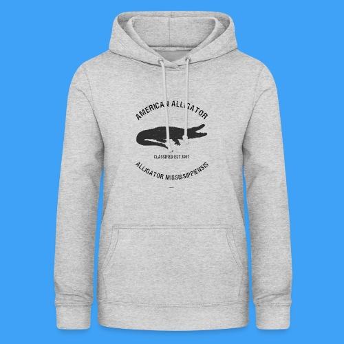 American Alligator black - Vrouwen hoodie