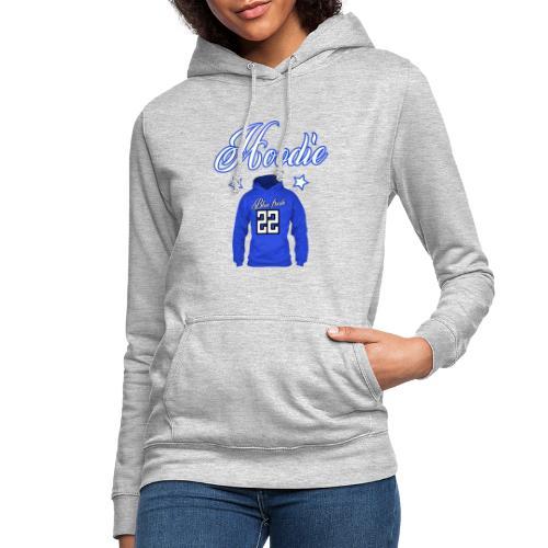 Hoodie 22 blue fresh - Vrouwen hoodie