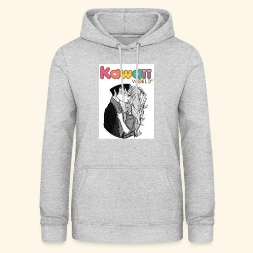 kawaii world - Sudadera con capucha para mujer
