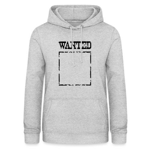 Wanted $ Boarder Frame Rahmen -> zum einschreiben - Frauen Hoodie
