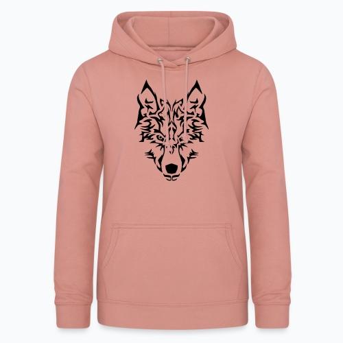 Tribal Wolf - Sweat à capuche Femme