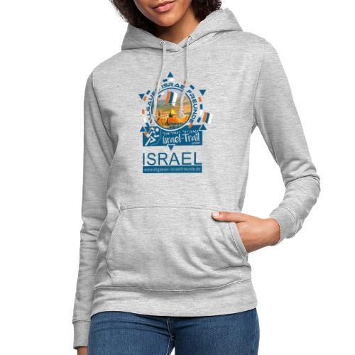Allgäuer Israelfreunde Israel, blau - Frauen Hoodie