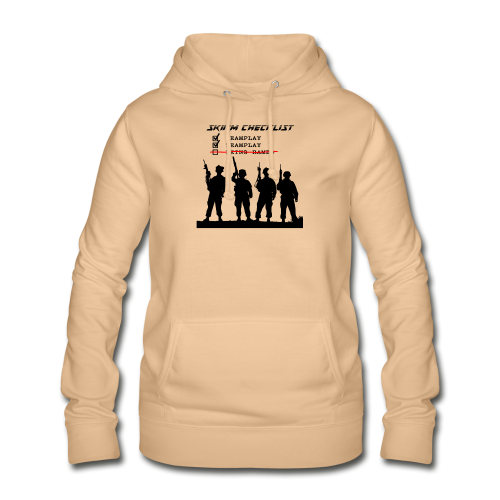 Skirm Checklist - Vrouwen hoodie