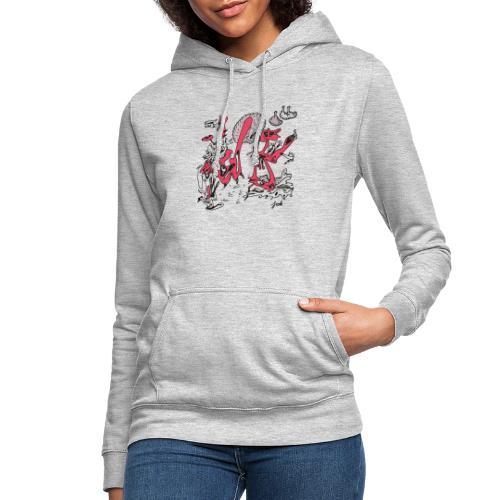 mr doodle woman keith haring red - Vrouwen hoodie