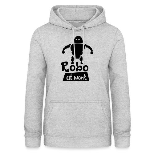 robot at work - Frauen Hoodie