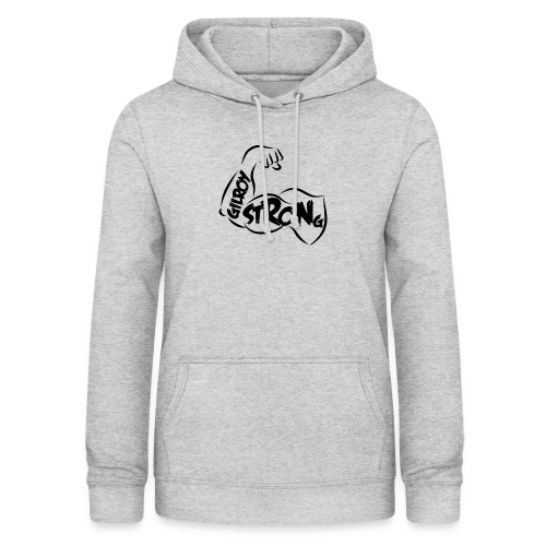 strong girloy - Sweat à capuche Femme