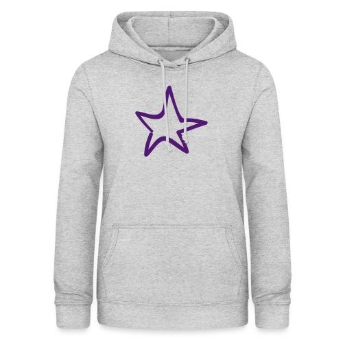 Star Outline Pixellamb - Frauen Hoodie
