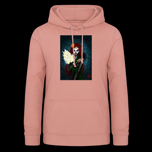 Death and lillies - Women's Hoodie