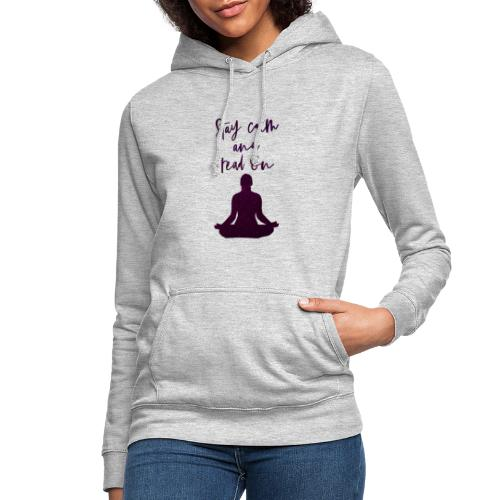 Meditation & Lesen - Frauen Hoodie