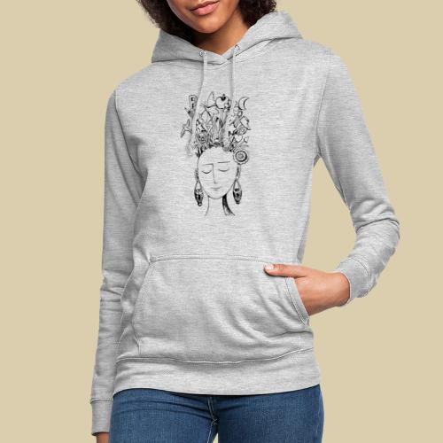 Floideas1 - Sudadera con capucha para mujer
