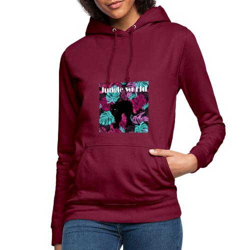 Jungle world panthere c - Sweat à capuche Femme