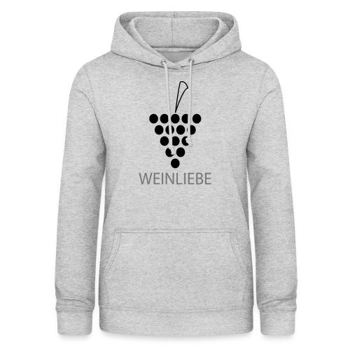 Weinliebe - Frauen Hoodie