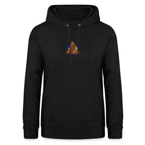 p0op Logo - Dame hoodie