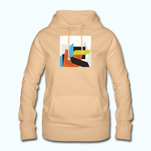 Vintage shapes abstract - Women's Hoodie