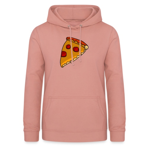 pizza - Dame hoodie