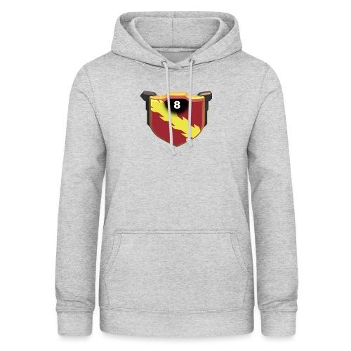 ESCUDO-01 - Sudadera con capucha para mujer