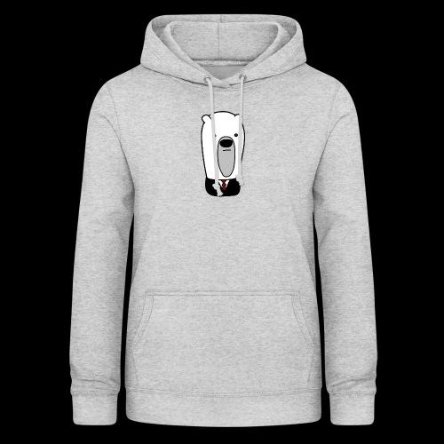 officel_polarbear_shop_logo - Dame hoodie
