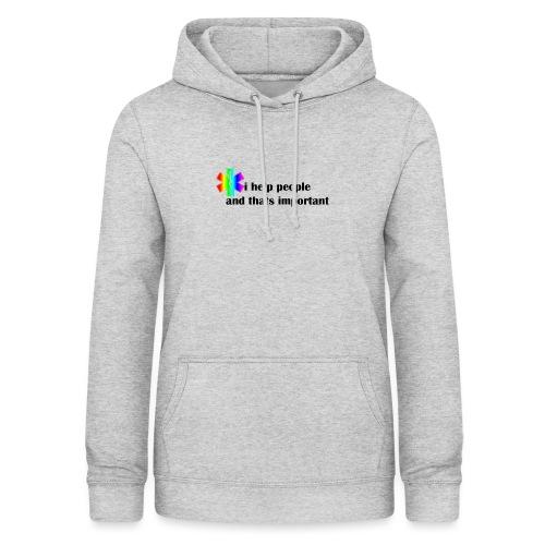 i help people - Vrouwen hoodie
