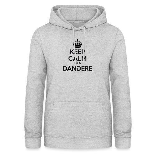 Dandere keep calm - Women's Hoodie