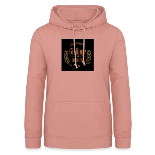 Sort logo 2017 - Dame hoodie