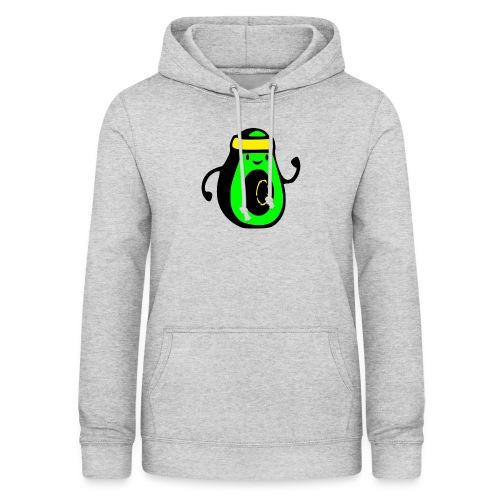 aguacate ninja - Sudadera con capucha para mujer