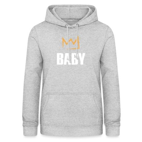 Baby mit Krone - Frauen Hoodie