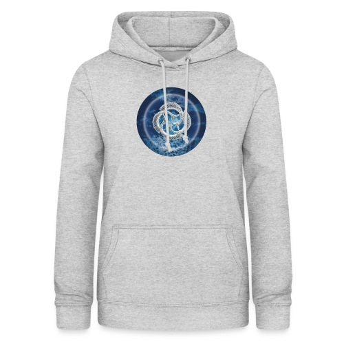 Blue Fish Circle - Women's Hoodie