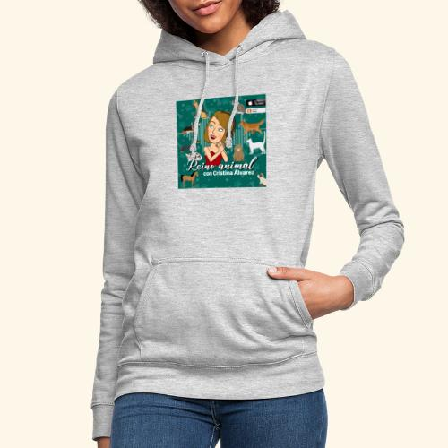 reino animal 01 - Sudadera con capucha para mujer