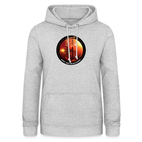 Round Cover / Marty And The Bad Punch - Women's Hoodie