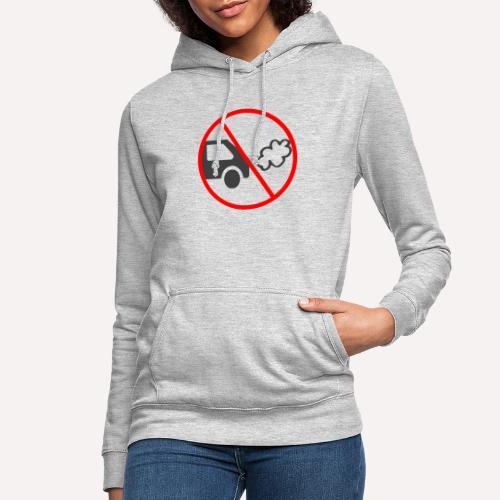 No Car Pollution - Women's Hoodie