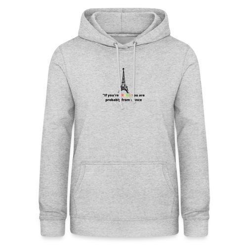 Slogan - Black Heading - Dame hoodie