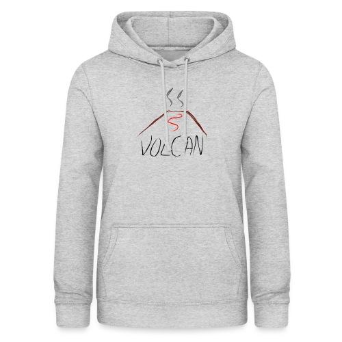 Volcan - Sudadera con capucha para mujer