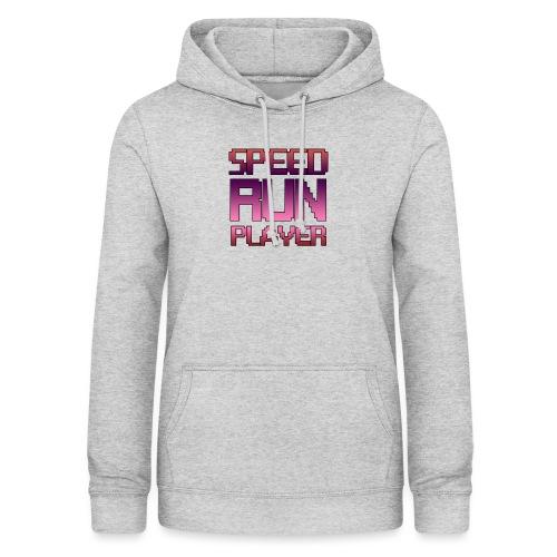 Speedrun player - Sweat à capuche Femme