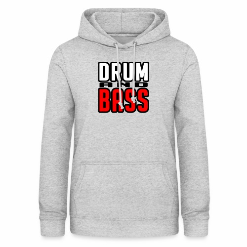 DRUMANDBASS 1 - Vrouwen hoodie