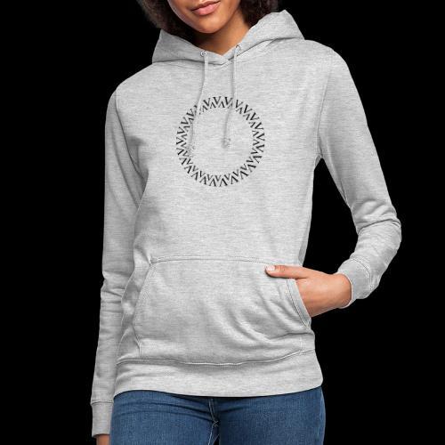 Kreis - Frauen Hoodie