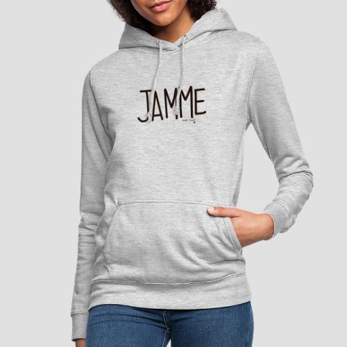 Jamme - Felpa con cappuccio da donna