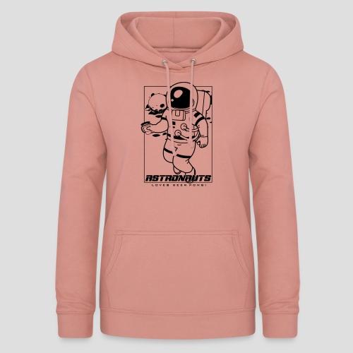 Astronauts loves Beerpong - Frauen Hoodie