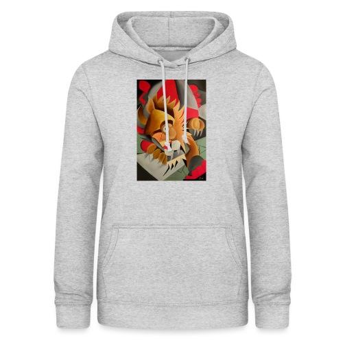 leone - Felpa con cappuccio da donna