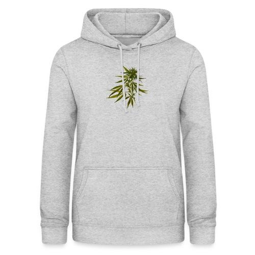 Kärma Streeatwear - Cannabis - Felpa con cappuccio da donna