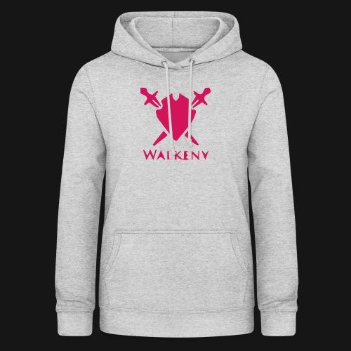Das Walkeny Logo mit dem Schwert in PINK! - Frauen Hoodie
