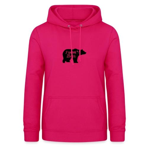 love beer - Vrouwen hoodie
